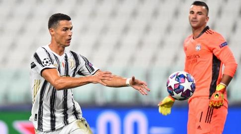 Cristiano Ronaldo after goal (Reuters)
