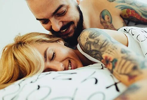 Sex improves intimacy and strengthens relationships