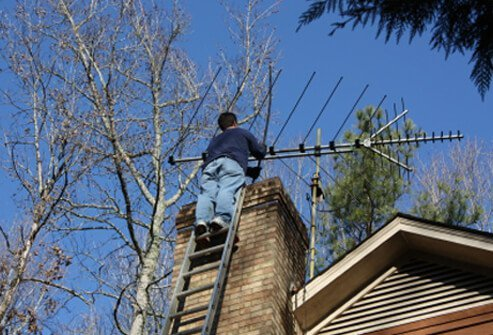 Have your chimney professionally cleaned.