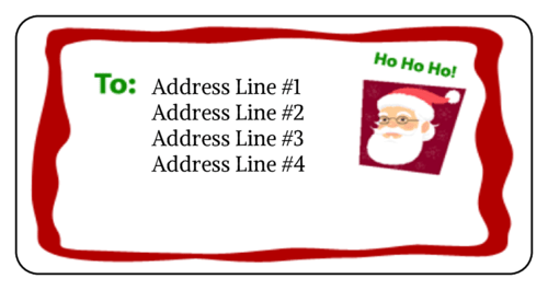 easy printable address labels templates