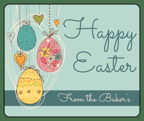 Easter Labels Download Easter Label Designs