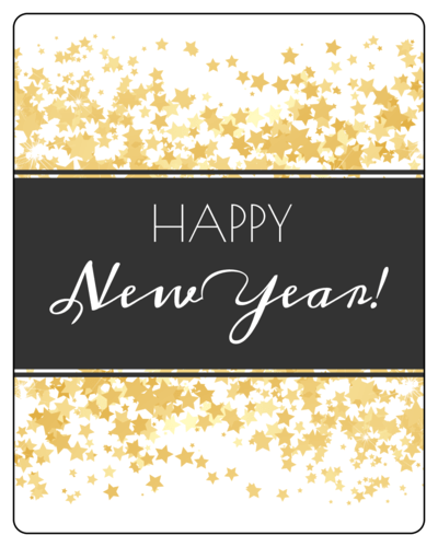 Free Printable Wine New Year Label – Merry Christmas And Happy New ...