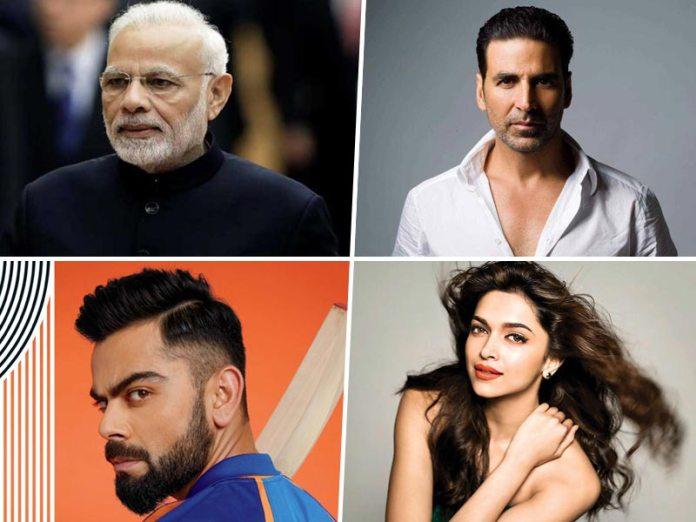 PM Modi, Akshay Kumar, Virat Kohli Make A Spot In The GOQii 2019 Health Influencers List