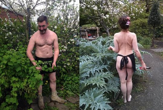 Image result for World Naked Gardening Day