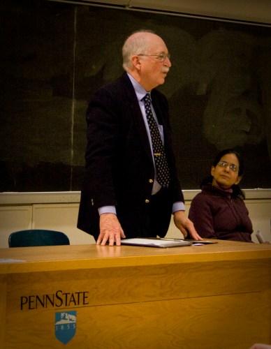 Emeritus professor of history Arthur Goldschmidt