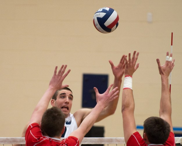 Men's Volleyball Takes Control of Conference