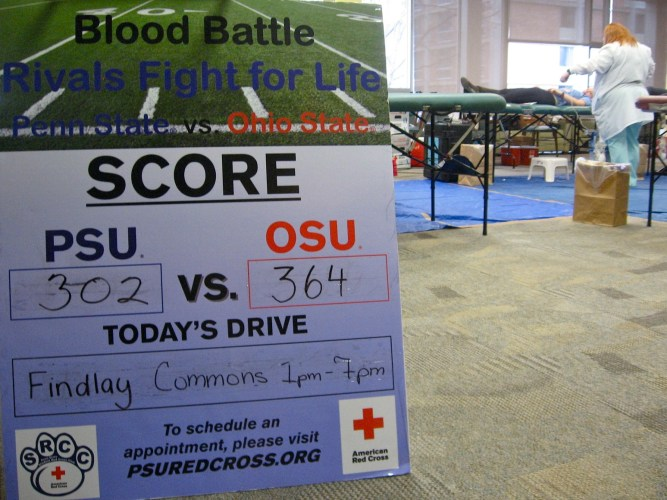 PSU-OSU Blood Battle Blood Drive