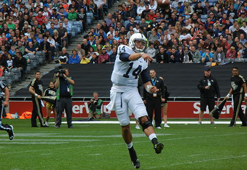 Hackenberg Sets New Penn State Passing Record in Victory