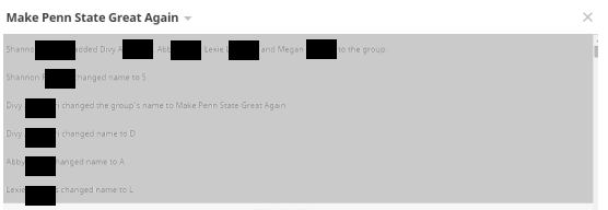 Leaked Agnihotri/Fleming GroupMe Messages Contain Potential