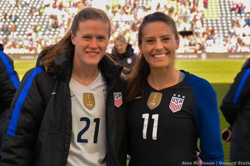 World Cup Champions Ali Krieger, Alyssa Naeher To Return For Penn State Women's Soccer Match