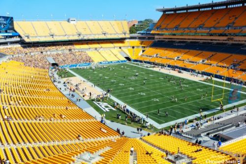 Places More Crowded Than Pitt's Home Games