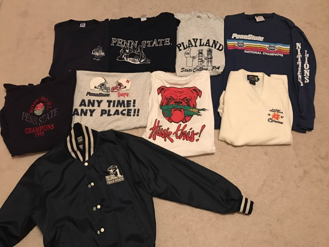 bdac360a The Best Of Your Vintage Penn State Apparel: Part Two