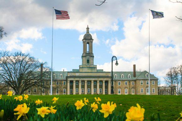 Penn State University Happy Valley Flag