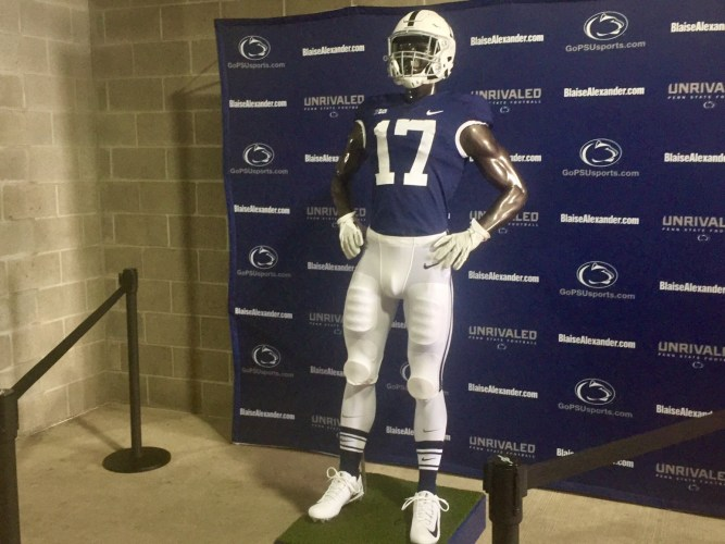 watch 56a7e 1665f Nittany Lions Excited About Throwback Jerseys For Indiana ...