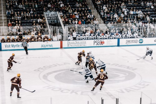 North Dakota Interested In Playing Against Penn State Hockey In Nashville