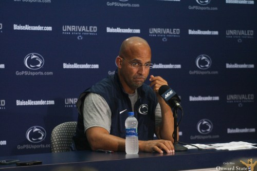 Michigan Fans Troll James Franklin At College World Series