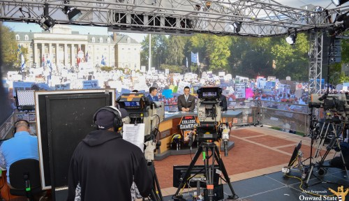 Rece Davis Lists Penn State As His No. 2 College GameDay Location