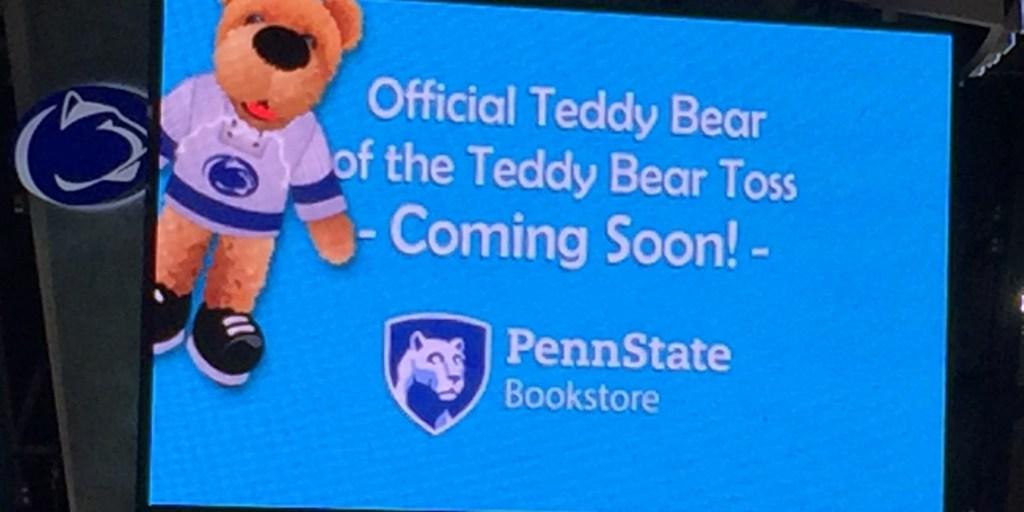 Penn State Hockey To Sell Official Teddy Bear Ahead Of Thon Teddy