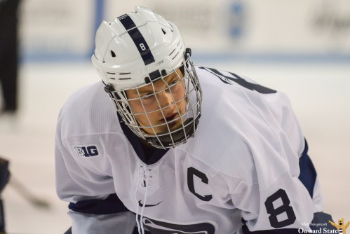 No. 9 Penn State Hockey Routs No. 5 Notre Dame 9-1 On Teddy Bear Toss Night