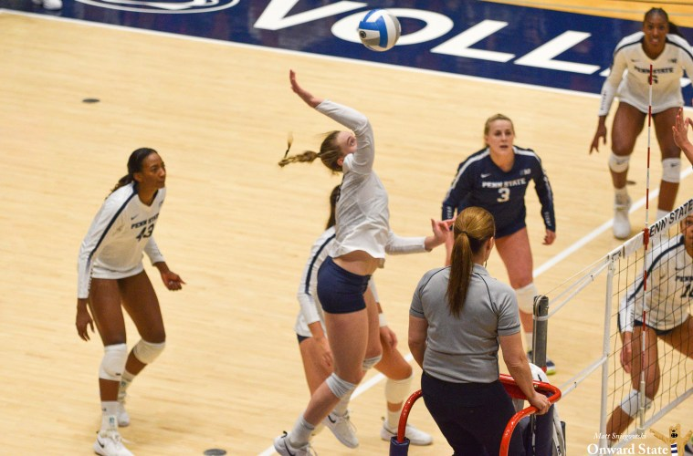 Penn State Women's Volleyball Beats Minnesota 3-2 | Onward ...