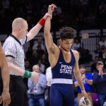 Penn State Wrestling Crowns Two Big Ten Champions, Places Second