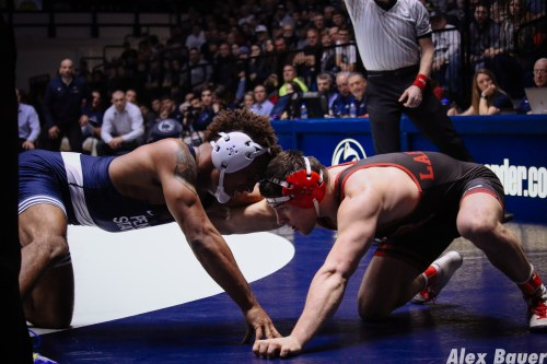 Penn State Wrestling Outlasts Nebraska In Back-And-Forth Dual