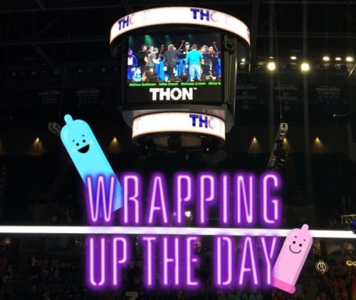 So…Why Is There A Snapchat Filter For Condoms At THON?