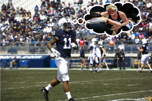 Micah Parsons Is Penn State Wrestling And Bo Nickal's Biggest Fan