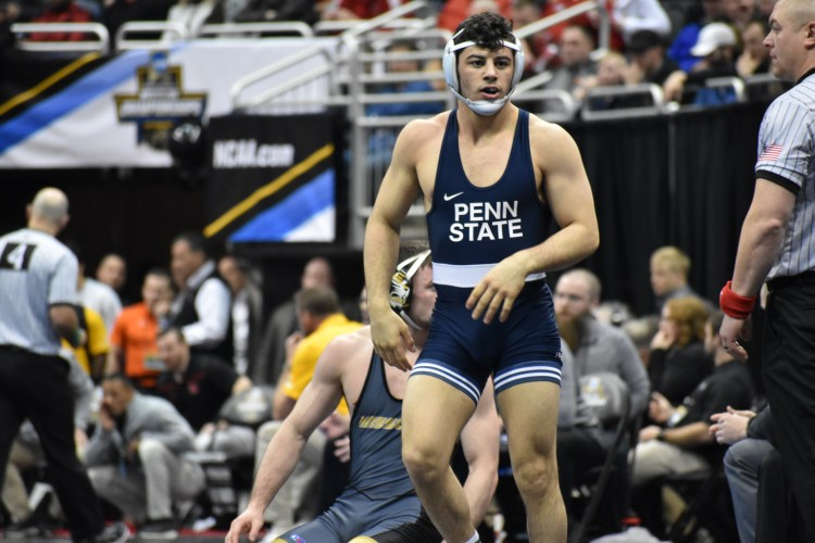 new styles 46d44 cb448 Penn State Wrestling Advances Six To Semifinals At NCAA Championships