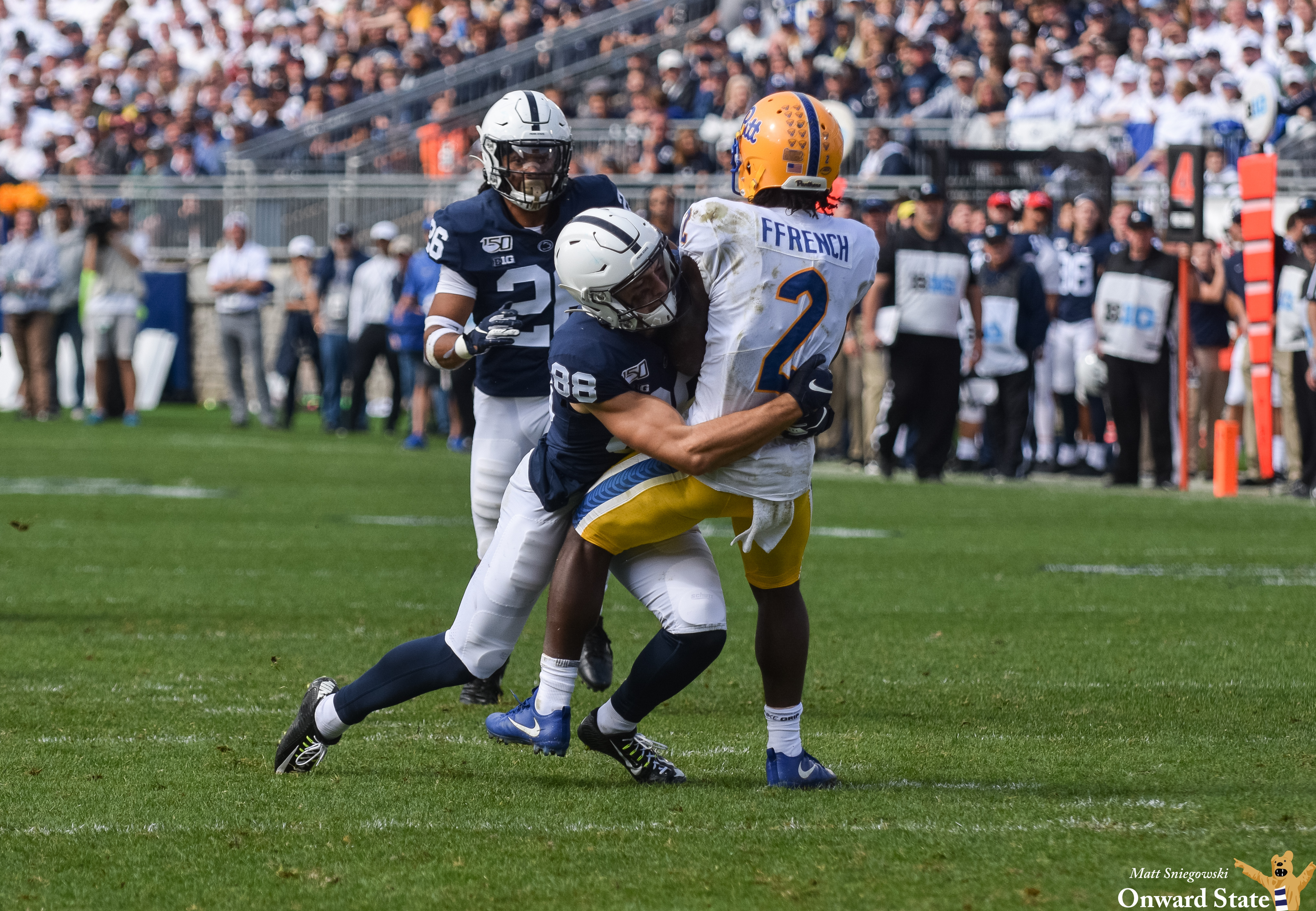 Penn State Wide Receiver Dan Chisena Wins Tropical Bowl Overall Mvp Onward State