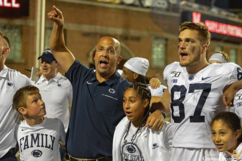 James Franklin Shares PSA With Nittany Nation On How To Stay Safe During Coronavirus Pandemic
