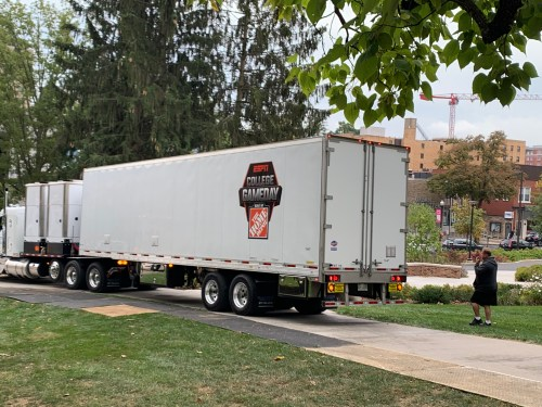 ESPN College GameDay Crew Arrives At Penn State