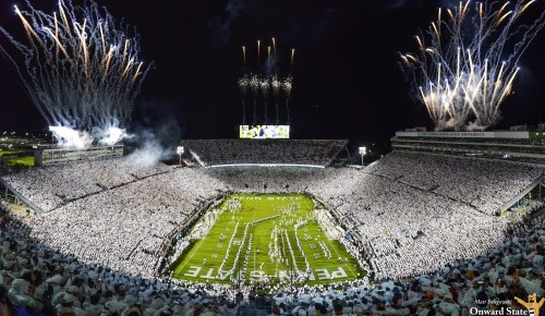 Penn State Football Ranked No. 2 Nationally In 2019 Average Attendance