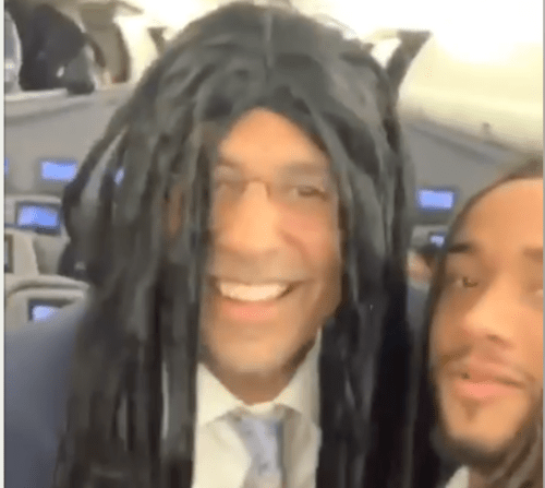 James Franklin Rocks Dreads With Jonathan Sutherland