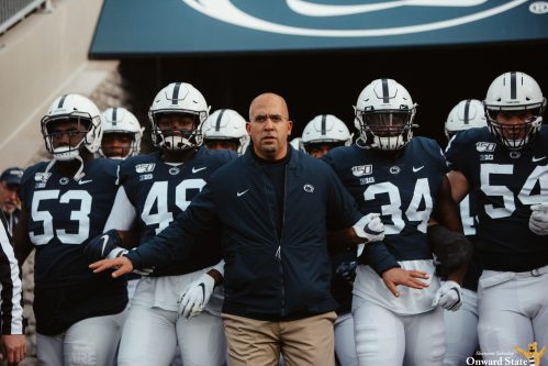 Penn State Football 'Discussing Plan' For Social Justice Messages On Uniforms
