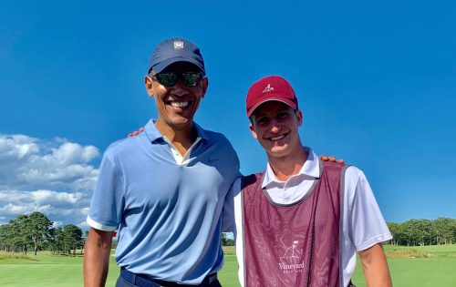 Caddying For Barack Obama: One Penn State Student's Four Hours With 44