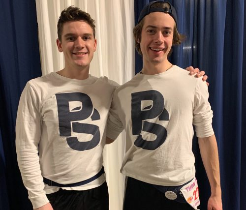 Penn State Drum Major, Blue Band President Dance Together In Final THON