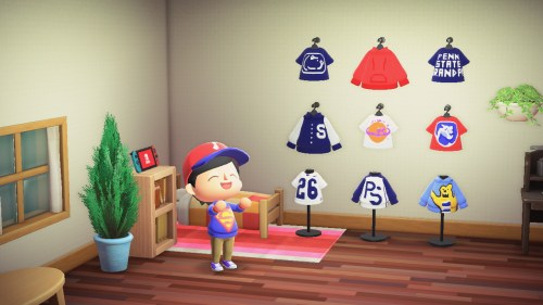 Creating A Penn State Wardrobe In Animal Crossing: New Horizons
