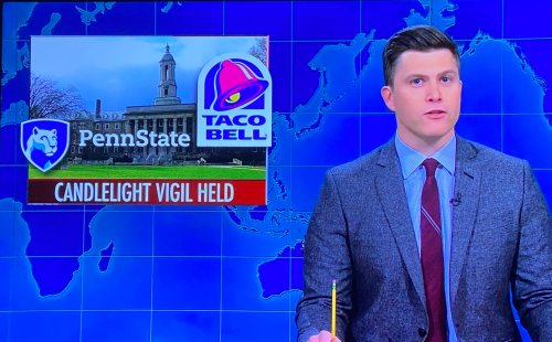 SNL 'Weekend Update' Features Penn State Students' Taco Bell Vigil