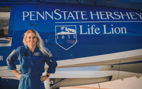 Dreams Take Flight: One Woman's Journey From Hershey Medical Patient To Flight Nurse