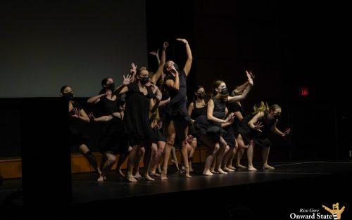 Homecoming Talent Show Whiplash Dance Team