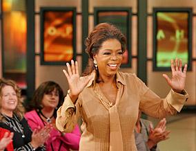 Oprah gives cards!