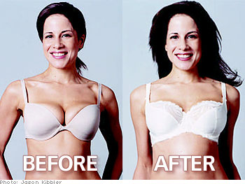Bra Spillage: Sooooo not pretty!It also appears to affect your hair do... who knew?