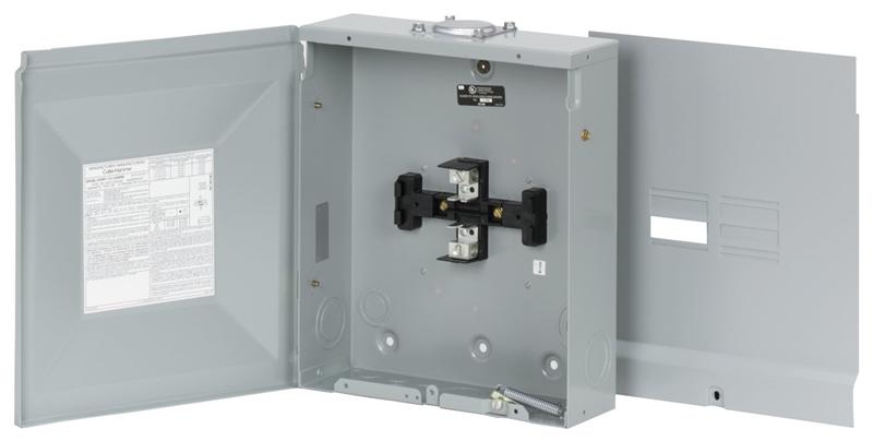 Eaton BR48L125RP Load Center, 120/240 VAC, 125 A, Main Lug