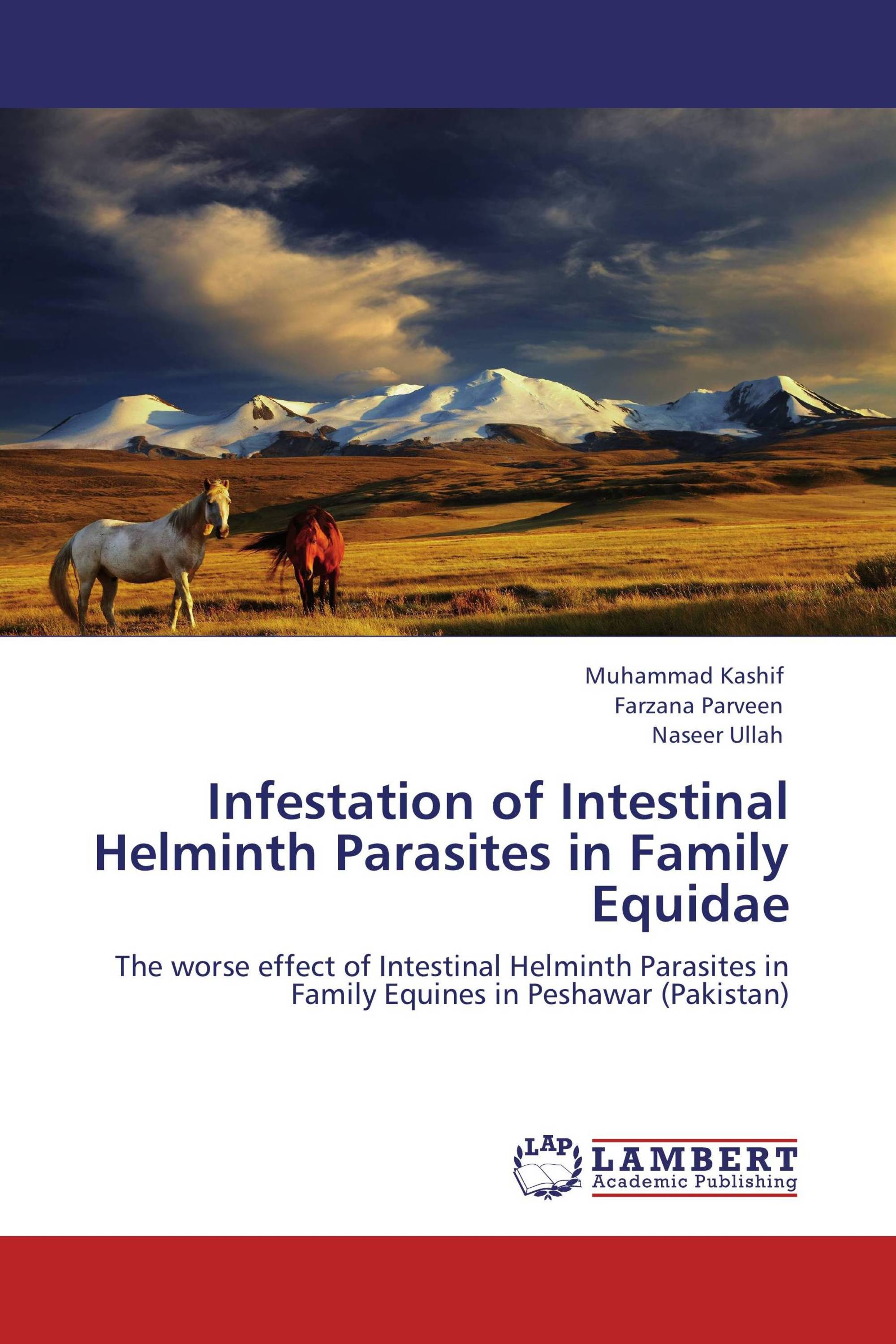 Infestation Of Intestinal Helminth Parasites In Family