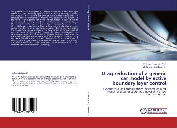 Drag reduction of a generic car model by active boundary ...