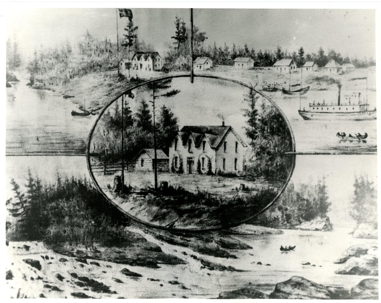Full Image View La Premiere Colonie A Sturgeon Falls The First Settlement In Sturgeon Falls