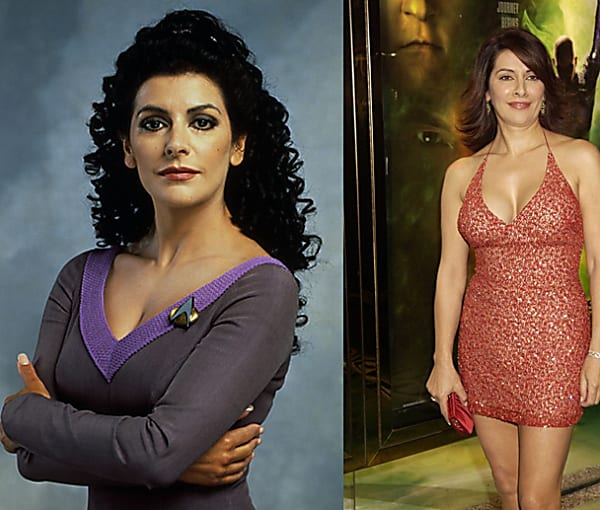 [Gallery] Deanna Troi From Star Trek Is Completely Different In Real Life