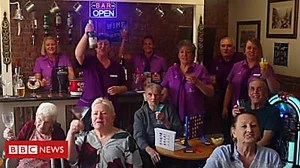 The care home with darts, karaoke and WKD