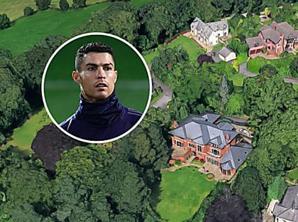 Cristiano Ronaldo Selling Former Manchester Mansion for £3.25M